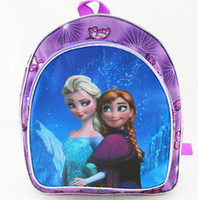 Wholesale Frozen Children School Bags Anna Elsa preschool bags Kids Cartoon School Bag