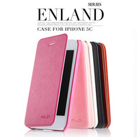 Wholesale KLD Oscar II ENLAND series leather flip cell phone cases for samsung S5 S4 post