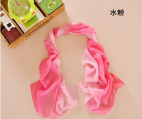 Wholesale 2015 Scarfs for Women Cheap Sca Amazing Fashion Chiffon Scarfs Sarongs Lucky Magpie Twig Pattern Muffler Printed Scarves Colors