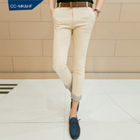 2014 Spring Pantyhose CC903 CCMKHF summer new men's casual pants men Korean Slim pantyhose feet 9 pants influx of men and men of England