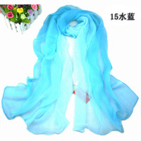 voile amazing scarves - 2016 Amazing Fashion Chiffon Scarfs Shawls Sarongs Lucky Magpie Twig Pattern Muffler Printed Scarves Colors