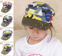 Wholesale Girls Camouflage Adjustable Fatigue Cap Camouflage Vintage Washed Adjustable Mesh Trucker Baseball Cap Hat One Size Fits Most
