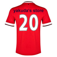 Wholesale Thai Quality 2014 Season # 20 v. PERSIE Jerseys So...