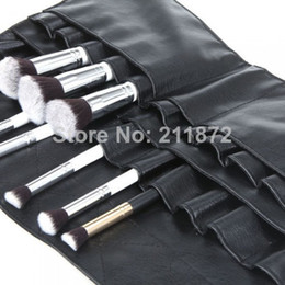 Wholesale MN High quality PVC Cosmetic Makeup Brush Apron with Artist Belt Strap Professional Brush Bag Dropshipping