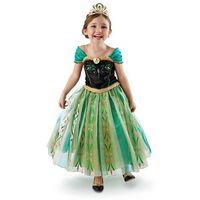 TuTu Spring / Autumn A-Line Wholesale - Hot frozen Dress baby clothes Kids Children Clothing Princess girls dresses Child Kid Snow Queen Dressy cartoon dresses