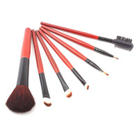 Wholesale 2014 Hot Sale Special Best Quality set Makeup Brush Set Foundation Eyeshadow Blush Lip Gloss Pen Case