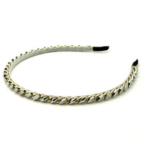 Cheap Headbands hair jewelry Best White Mexican rhinestone bead