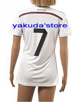 Wholesale Thailand Quality Customized Season RONALDO Home Soccer Lady Jerseys Woman s Football Shirts Tops Jersey