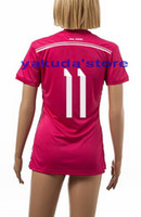 Wholesale Thailand Quality Women Season BALE Away Soccer Football Jerseys High Quality Ladies Sports Shirts Popular Soccer Jerseys Shopping
