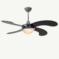 Wholesale HOT SALE Modern brief dining room fan lights fashion brief coffee shop decaration ceiling fan remote control