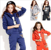 Men Cardigan Hoodies,Sweatshirts New 2014 Fashion Sweatshirts Women Sport suit Women Elegant Hoodies Woman set Coat+Vest+Pants 3pcs Sweat Suit Tracksuit