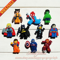 shoe charms - quot Lego Movie Inspired quot PVC Jibbitz Shoe Charms Fit for shoes amp bands charm decoration shoe accessories Party Favors