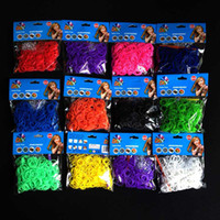 Bohemian rubber band loom - 13Color Rainbow Loom Kit Rubber Bands Rainbow loom rubber band booster packs s hook