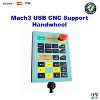 new cnc - Free ship Mach3 USB Handwheel for Engraving Machine Controller CNC Engraver Handle