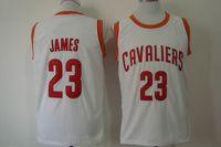 Basketball Men Sleeveless Lebron James Uniform Cleveland Jersey White #23 Player Shirts High Quality Men's Jerseys Brand Sports Jerseys Cheap Basketball Wear Hot Sale