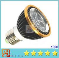 Wholesale 200X High Power E27 Par20 x3w W Spotlight Led Lamp Led Lighting V V Led Bulbs