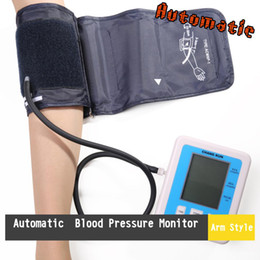 Wholesale LCD Screen Digital Memory Arm Blood Pressure Monitor Heart Beat Meter Intelligent