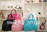 Totes china wholesale handbags - 40pcs Hot selling PU leather handbag for women famous brand handbags handbags designer brand china post with tracking n