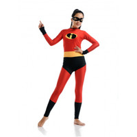Wholesale The Incredibles Mrs Incredible Costume The Incredibles Set Halloween party costumes