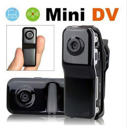Wholesale FreeShipping MD80 Bracket Clip Black Sports Video Camera Mini DVR Camera Mini DV High Resolution Mini Camera Sports DV Drop Ship