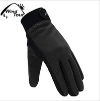 Wholesale Outdoor autumn winter warm fleece Colloidal particles gloves thermal wincey cold proof mountain hunting sports for men and women