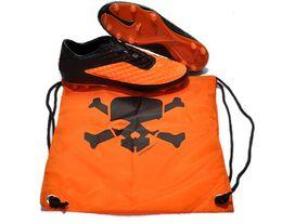 Wholesale Hotsale Best Quality Football Soccer Orange Hypervenom Series Shoes Cleats Boots Storage Nylon Bag Football Equipment