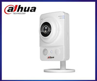 Indoor Infrared CCD Wholesale - Dahua Wireless Wifi 1.3Megapixel IP Camera IPC-K100W Digital Security CCTV Cube Camera 720P HD SONY Chip