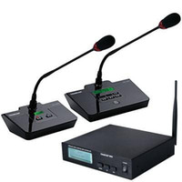 Wholesale Top Quality Takstar DG C100 Table Conference Microphone System site meeting microphone G Digital Wireless Conference System