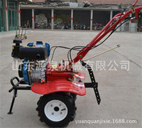 Wholesale Shandong Yuanquan Machinery Diesel engine Air cooling Micro tillage machine