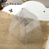 pvc clear plastic gift boxes - clear box plastic box wedding favor green product gifts amp crafts customized products packing boxes