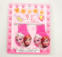 Wholesale new Promotion Pack40 Cartoon Frozen magnetic bookmark Cute novelty items Fridge Magnet Childrens gifts