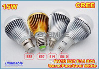 Wholesale Bubble Ball Bulb V W E27 E14 GU10 B22 High power lamp Globe light LED Lighting