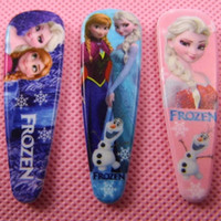Wholesale 2014 New Models Frozen anna Elsa princess Cartoon Hairpin Clip Hair Ornament Accessories BB Clamp Clip Children Hair Clip