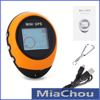 Wholesale New Sale Handheld Keychain Mini GPS Navigation PG03 USB Rechargeable For Outdoor Sport Travel Compass
