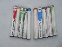 Wholesale HOT NEW golf grip Rubber and PU Super Stroke FATSO and Slim Golf Puter Grips or Can mix Grips Color DHL fast shipping
