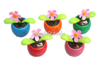 solar dancing flower - Hot Selling With retail package swing flower Solar Dancing Flower Flip Flap solar flower