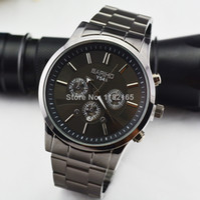 Dress Men's Round Brand Watches Men Black Stainless Steel 30M Waterproof Japan Movement Dieseler Quartz Analog Business Sports Wristwatch Original