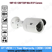 Wholesale GT VIEW HD P Megapixel Onvif P2P Waterproof Outdoor Night Vision Mini CCTV Bullet IP Camera free power supply