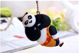 Wholesale 10PCS Kungfu Panda CM Rubber Nail Scissors Clippers Finger Nail Trimmers Key Chain Pendant Nail Knives Cutters Clippers
