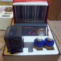 fuel injector cleaner tester - CNC A injection cleanning tool Launch fuel injector cleaning machine tester CNC602A With English Panel DHL FEDEX