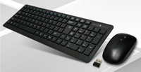 Wholesale 2 G USB Super Thin Slim Wireless Keyboard and Mouse Set Combos M For Laptop amp Tablet Accessories Computer Peripherals LGSB9