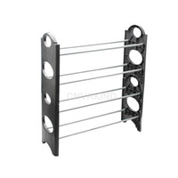 42948 Other Household Sundries Shoe Rack Stand #Cu3 Family 4 Tier Shoe Rack Stand Shoes Ladder Storage Organizer Stacking
