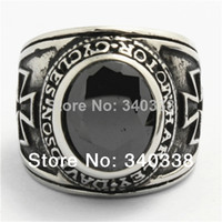 Cheap biker ring Best onyx ring