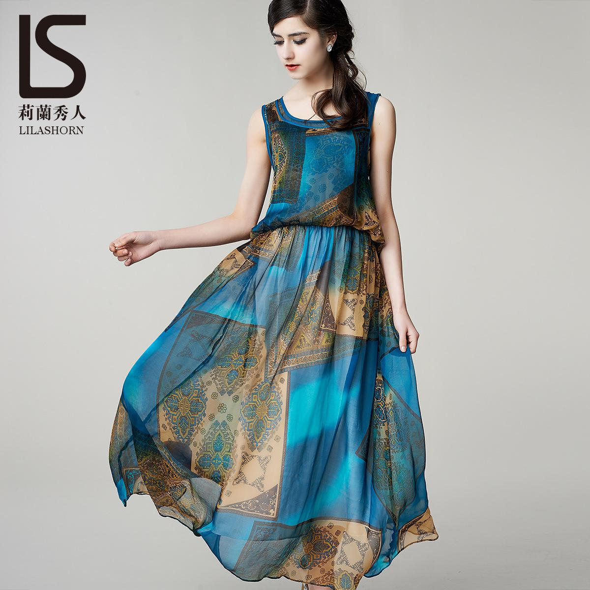 Silk Summer Dresses