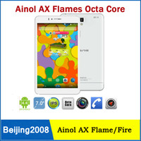 Wholesale MTK6592 Octa Ainol AX Flame Fire Android Tablet GB RAM GB ROM G Phone Call Phablet Inch IPS Retina x1200P GPS Tablets