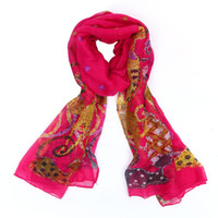 Wholesale 2014 desigual brand a Voile Scarf Women fashion Funky cat Moggy print Scarves Striped Color Block Patchwork pashmina scarfs