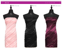 Wholesale The new Korean version of the new Slim small hand beaded dress party dress very cocktail dress Han edition new Sexy Bra Slim was thin