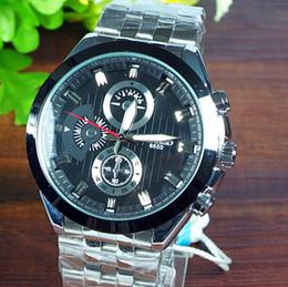 Wholesale Wristwatches Men Top grade Genuine Waterproof Steel table Quartz