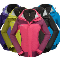 Wholesale New outdoor pink snowboard jacket womens colorful puzzle snowboarding jacket waterproof skiing clothing for women ski suit wear