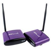 Wholesale High Quality GHz PAT Wireless AV Video Sender Transmitter Receiver Transmit M Purple D5201P